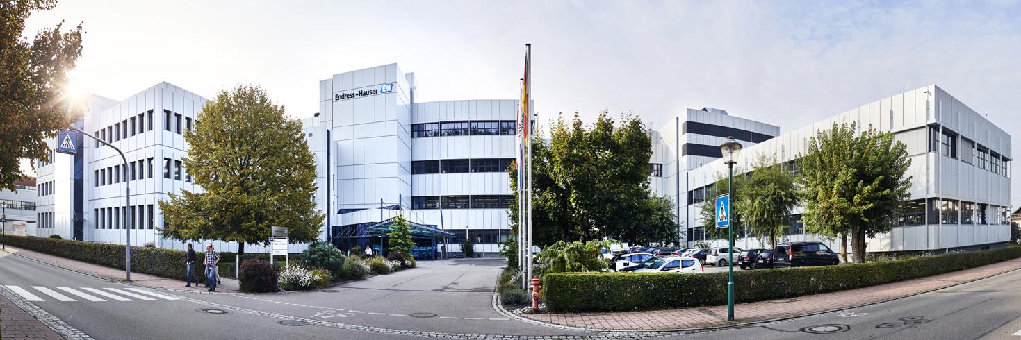 Panorama Aufnahme von Endress+Hauser Maulburg