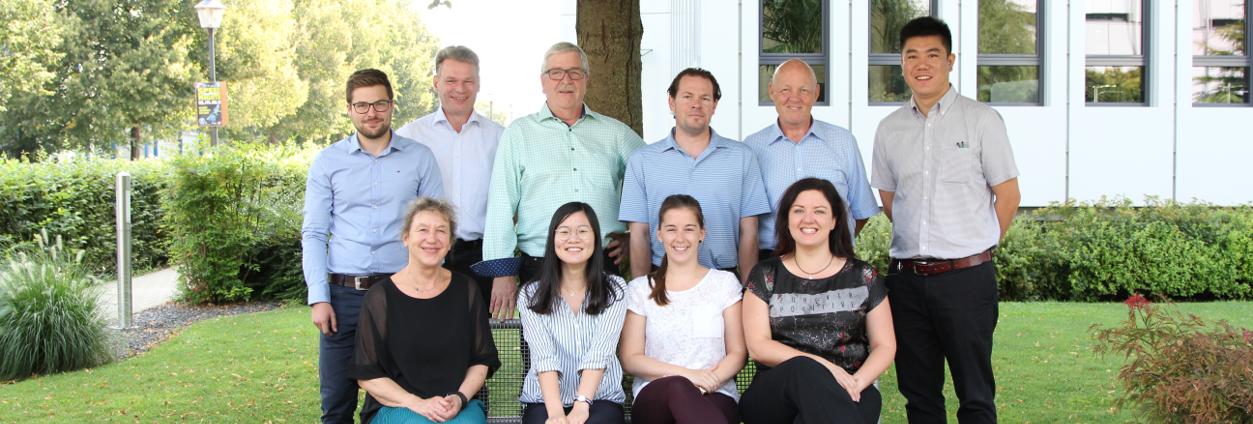 Team des Geschäftsbereiches Sensoren&Komponenten